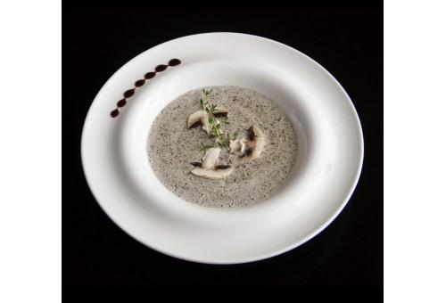 Крем-суп грибной с сухариками